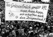 1968 Pokalfinale - Kreative VfL-Fans