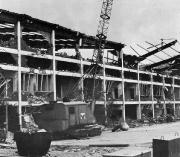 1977 Abriss der Haupttribüne