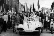 1970/71 Aufstiegsfeier