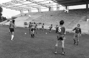 1976/77 Training vor der Nordtribüne