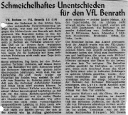 1949/50 - 2.Liga West 2 - VfL Bochum - VfL Benrath 1-1