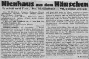 1953/54 Gladbach - Bochum 3-0
