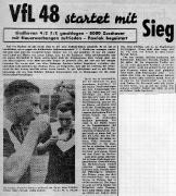 1954/55 VfL Bochum - PSV Eindhoven