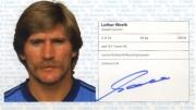 1982/83 Scheckheft Lothar Woelk