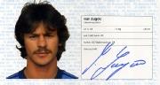 1982/83 Scheckheft Ivan Zugcic