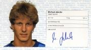 1982/83 Scheckheft Michael Jakobs