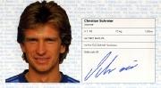 1982/83 Scheckheft Christian Schreier