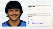 1982/83 Scheckheft Dieter Kramer