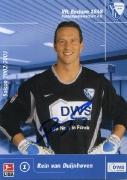2002/03 mit DWS Rein van Duijnhoven