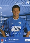 2002/03 mit DWS Michael Bemben