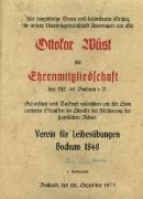 1975 Ernennung zum Ehrenmitglied Ottokar Wüst