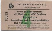 1972/73 Tickets