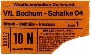 1975/76 Schalke 04 in Dortmund