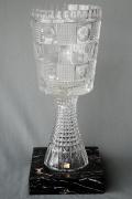 1988 Glaspokal zum Pokalfinale VfL Bochum - Eintracht Frankfurt