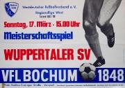 1967/68 RL West Wuppertaler SV