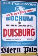 1975/76 MSV Duisburg in Herne
