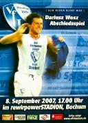 2007/08 Dariusz Wosz Abschiedsspiel